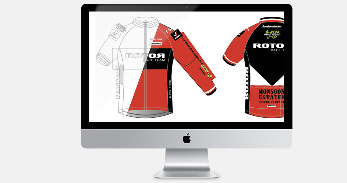 Cycling and Triathlon Club Kit Design