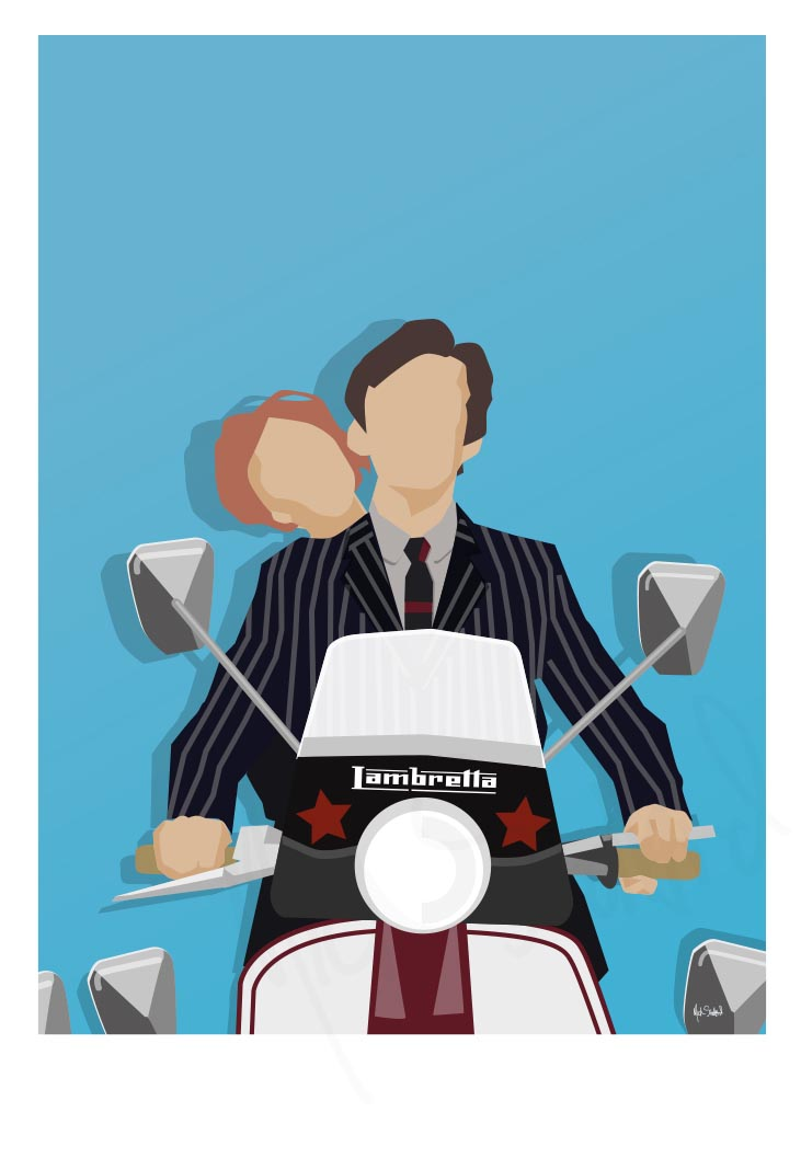 Illustration Work - Quadrophenia